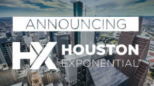 houston exponential announcment